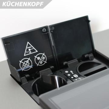 Produkttest-kuechenkopf-Kaffeevollautomat-Jura-z6-bohneneinfüllung