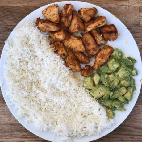 Chicken | Avocado | Reis