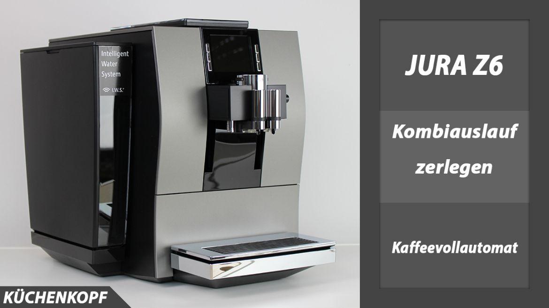 jura z6 kaffeevollautomat test k chenkopf. Black Bedroom Furniture Sets. Home Design Ideas