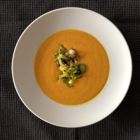 Kürbis-Pastinaken-Suppe