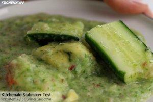 Kitchenaid Stabmixer grüner Smoothie Ergebnis