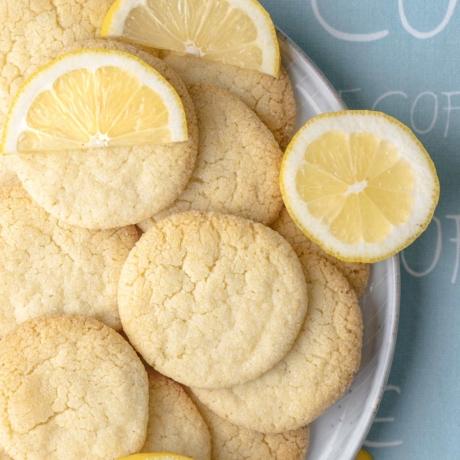 Zitronen-Zucker Cookies